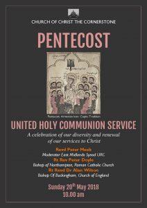 Holy Communion for Pentecost @ The Church of Christ the Cornerstone | Milton Keynes | United Kingdom