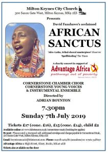 African Sanctus @ The Church of Christ the Cornerstone
